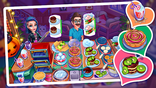 Halloween Madness : Chef Restaurant Cooking Games  screenshots 11