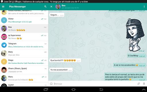 Plus Messenger android2mod screenshots 9