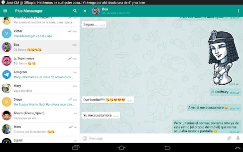 Plus Messenger Mod Apk (Telegram Plus/Lite) 8