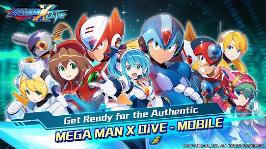 MEGA MAN X DiVE – MOBILE 1