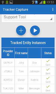 Tracker Capture for DHIS 2