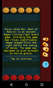 Puluc: Mayan running-fight board game