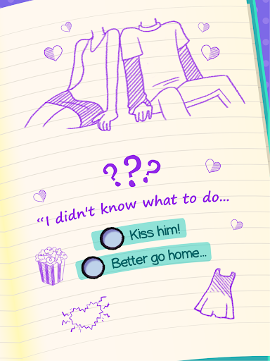 Dear Diary - Teen Interactive Story Game screenshots 7