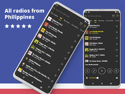 Radio Philippines: FM radio player, online radio Screenshot