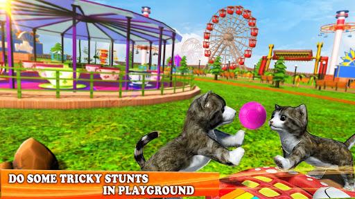 Pet Cat Simulator Family Game Home Adventure Apkfinish screenshots 5