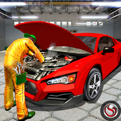 Bil Mechanic Workshop Garage