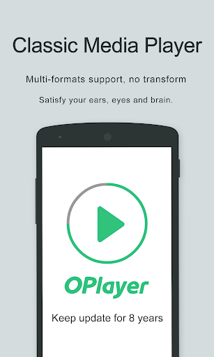 Video Player - OPlayer screen 1