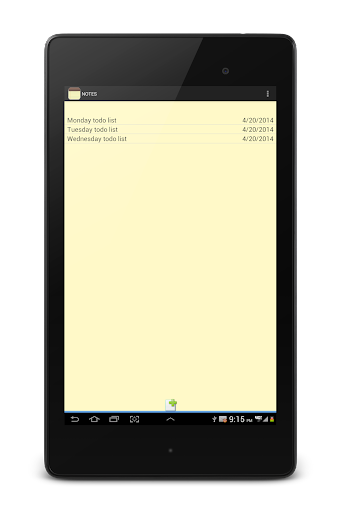 NOTES 1.27 Screenshots 20
