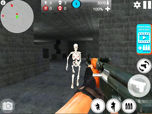 Skeleton Shooting War: Survival 3.9 screenshots 13