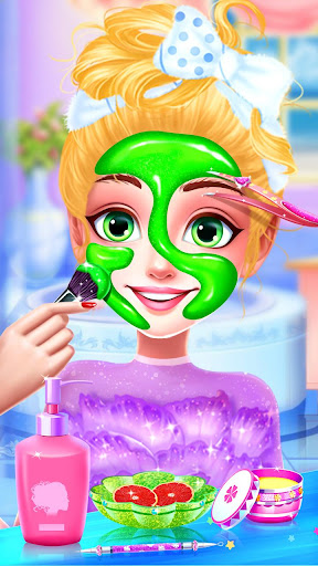 ud83dudc78Rainbow Princess & Unicorn Makeup - Fashion Trip 1.8.5038 screenshots 9