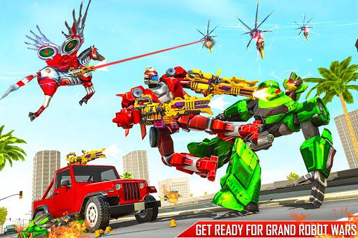 Horse Robot Games - Transform Robot Car Game 1.2.3 screenshots 23
