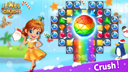 Jewel Crushu2122 - Jewels & Gems Match 3 Legend Apkfinish screenshots 6