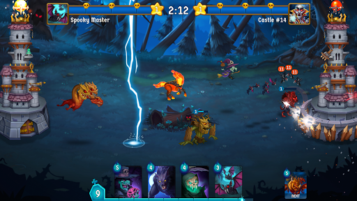 Spooky Wars - Battle Castle Defense Strategy Game SW-00.00.58 screenshots 1
