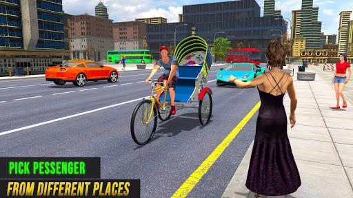 Bicycle Tuk Tuk Auto Rickshaw : New Driving Games  screenshots 6