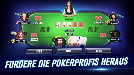 WSOP Poker - Texas Holdem Screenshot