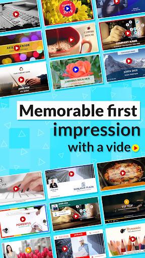 Digital Video Business Card Maker 18.0 screenshots 1