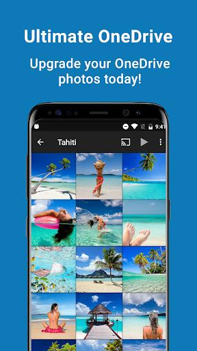 SkyFolio - OneDrive Photos, Uploads and Slideshows