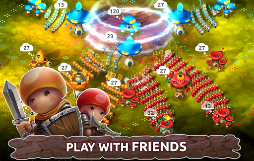 Mushroom Wars 2: RTS Tower Defense & Mushroom War apkpoly screenshots 1