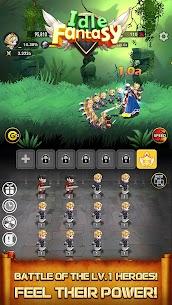 Idle Fantasy MOD APK: Merge clicker RPG (Unlimited Money) 1