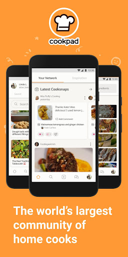 Cookpad - Create your own Recipes screenshots 1