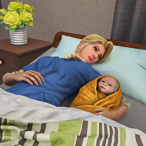 Pregnant Mother Simulator: Happy Virtual Family 3D