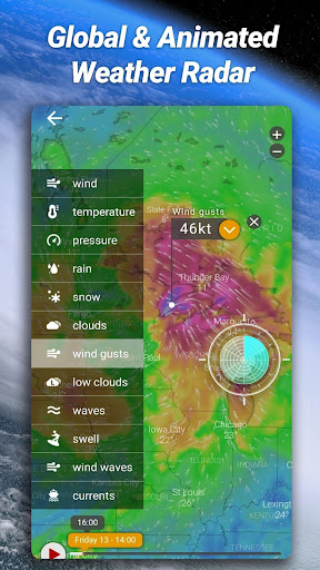 Accurate Weather: Weather Forecast, Clima Widget 1.1.8 Screenshots 4