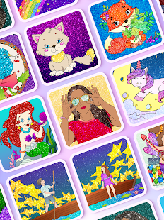 Coloring Fun : Color by Number Games screenshots 11