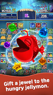Jewel Abyss: Match3 puzzle Apkfinish screenshots 12