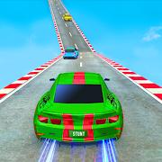 Sports Car Crazy Stunts 2021- Mega Ramp Car Games