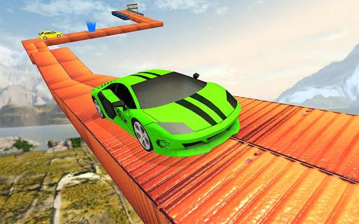 Impossible Car Stunt Game 2021 - Racing Car Games screenshots 12