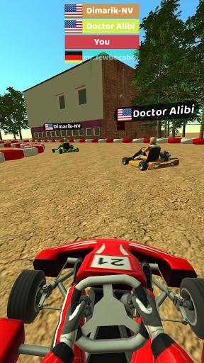 Code Triche Kart Rush 3D (Astuce) APK MOD screenshots 3