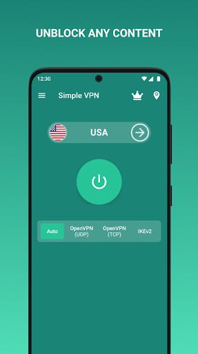 Simple VPN Pro - Private Fast VPN screenshots 1