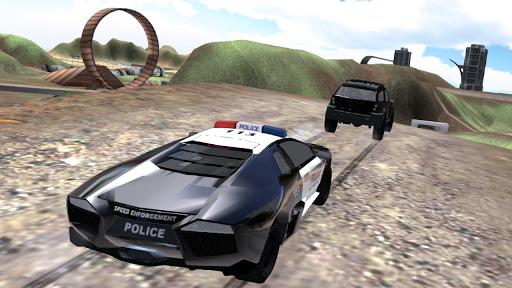 police chase car drifting screenshot 3