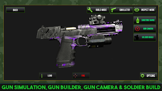 Custom Gun Simulator 3D 4.0 screenshots 1