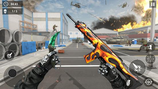 Real Terrorist Shooting Games: Gun Shoot War 1.15 Screenshots 1