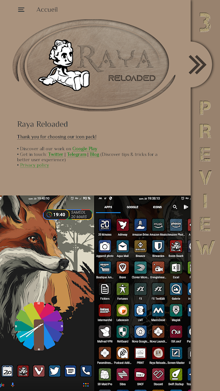 Raya Reloaded Icon Pack  poster 6