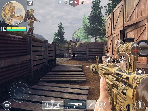 World War 2 - Battle Combat (FPS Games) modavailable screenshots 8