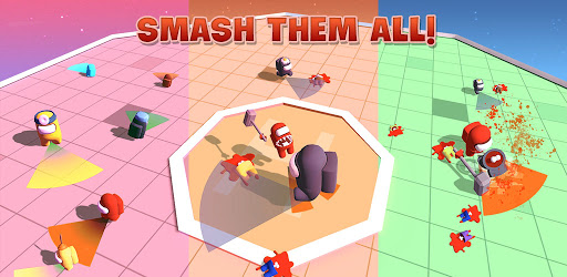 Imposter Smashers - Fun io games apktram screenshots 8