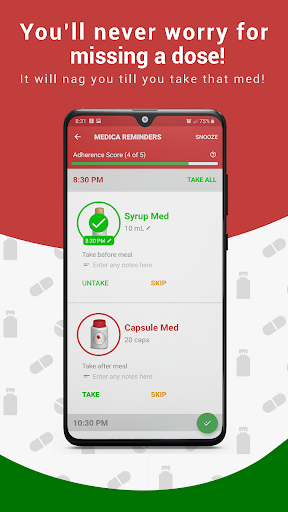 Medica screenshot for Android