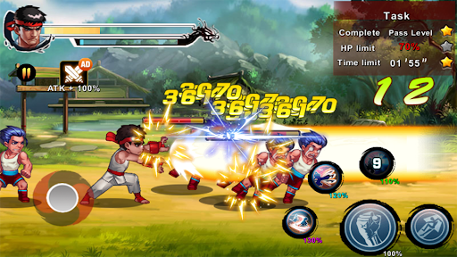 Street Fighting Man - Kung Fu Attack 5 1.0.5.186 screenshots 7