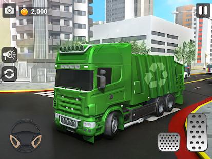 City Trash Truck Simulator: Dump Truck Games 1.37 Screenshots 6