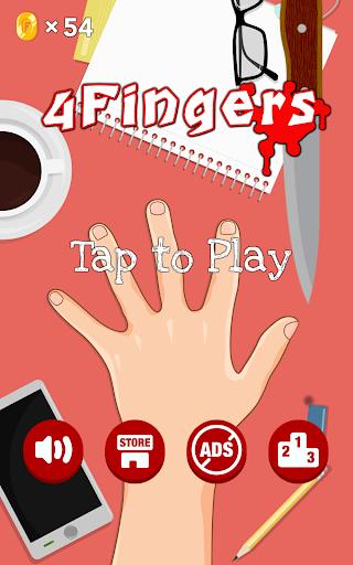 4 Fingers - free knife games 3.5 screenshots 1