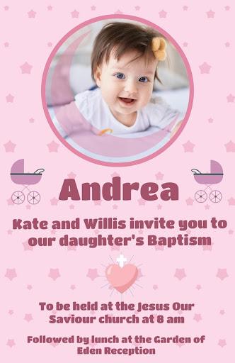 Baptism Cards android2mod screenshots 7