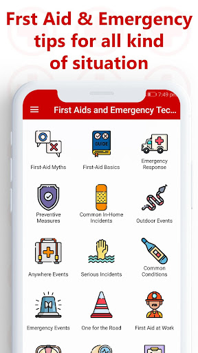 First Aid and Emergency Techniques 1.0.7 Screenshots 1