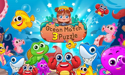 Ocean Match-3 Puzzle apkpoly screenshots 8
