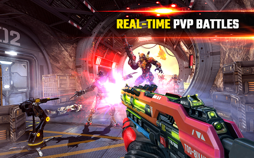 SHADOWGUN LEGENDS - FPS and PvP Multiplayer games apkpoly screenshots 10