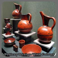 色付き陶器のデザインのおすすめ画像1