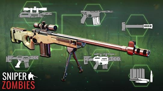 Sniper Zombies Offline Games 3D Hileli Apk Güncel 2021** 2