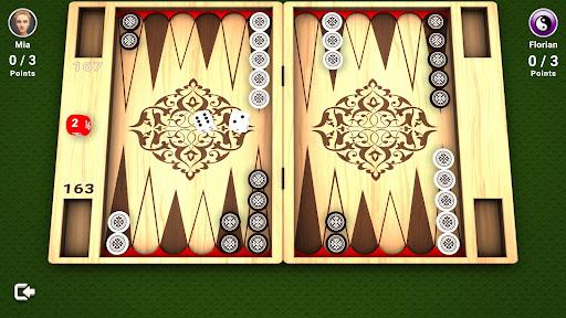 Backgammon online and offline - free Board Game  screenshots 1