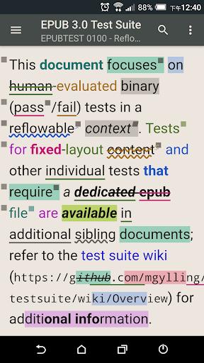 Reasily - EPUB Reader Apkfinish screenshots 5